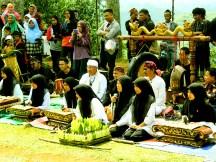 Pagelaran Seni dan Budaya di Situs Gunung Padang Desa Karyamukti, Kecamatan Campaka Cianjur, Jawa Barat