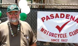 Paul Barber,Prez of the Pasadena MC.