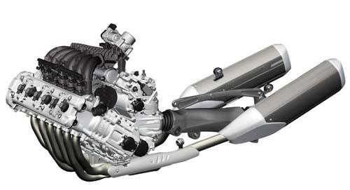2012 BMW K1600GT/GTL engine