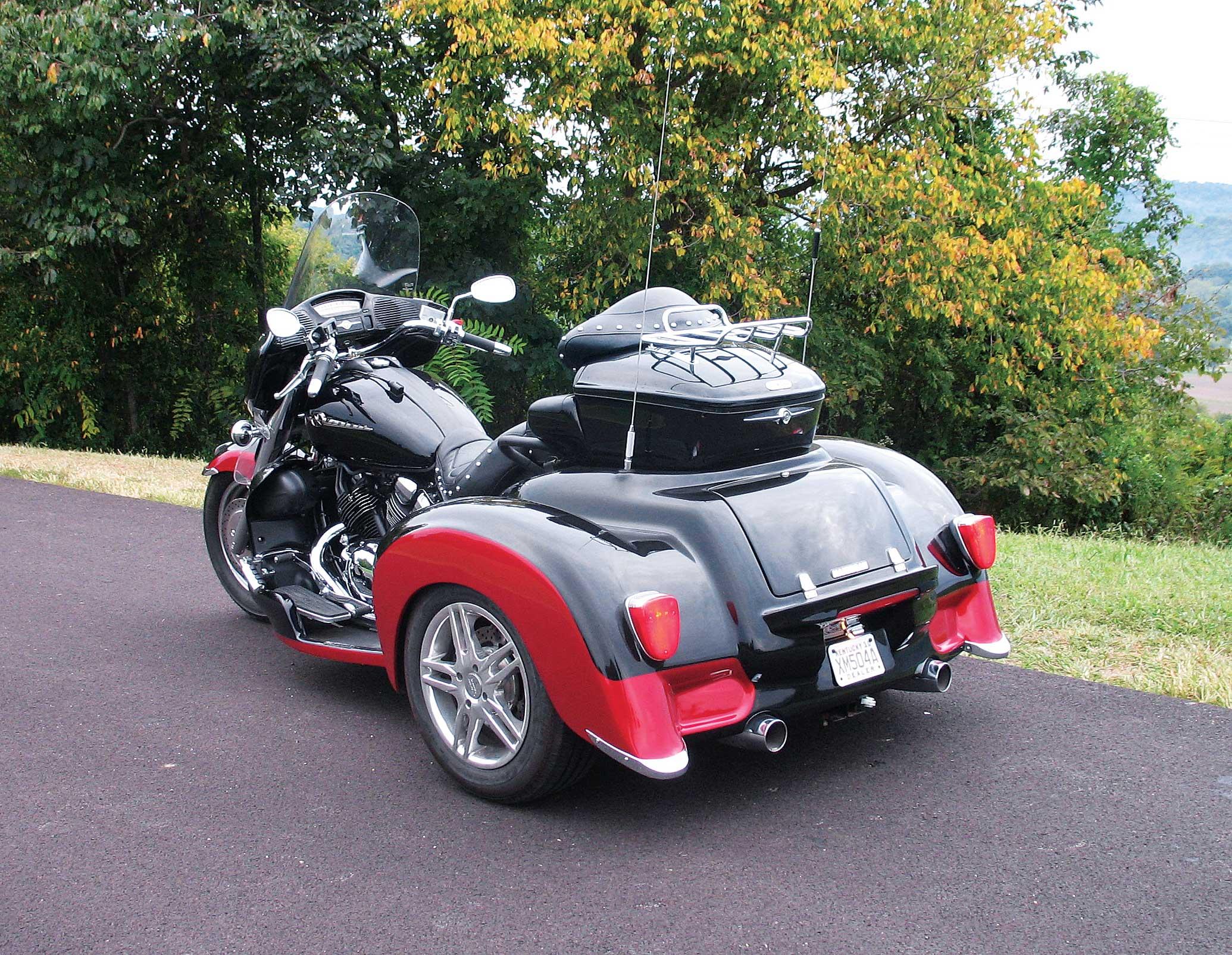Yamaha Royal Star Venture Hannigan Trike Conversion Rider Magazine Rider Magazine