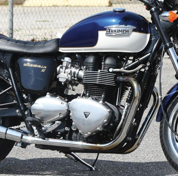 2009 Triumph Bonneville SE Engine