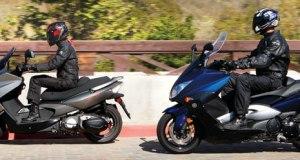 2010 Kymco Xciting 500Ri vs. 2010 Yamaha Tmax