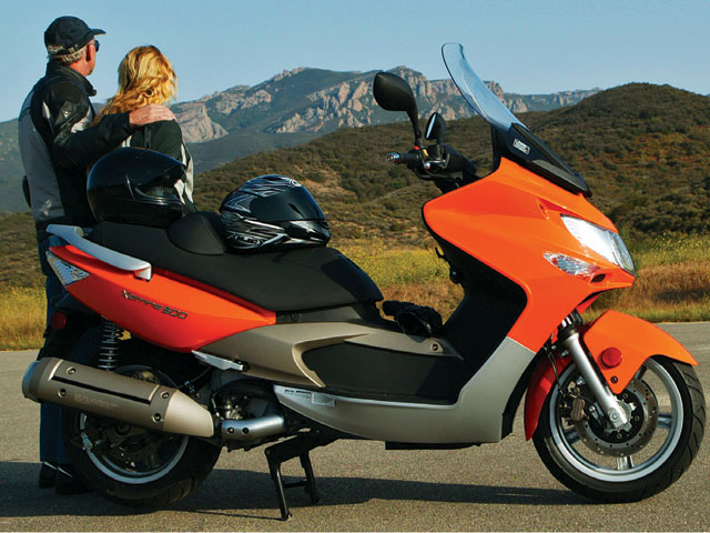 2007 Kymco Xciting 500 Road Test Rider Magazine Kymco