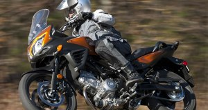 2012 Suzuki V-Strom 650 in action