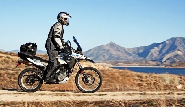 The tall, lithe BMW Sertão is more capable and confidence-inspiring off-road.