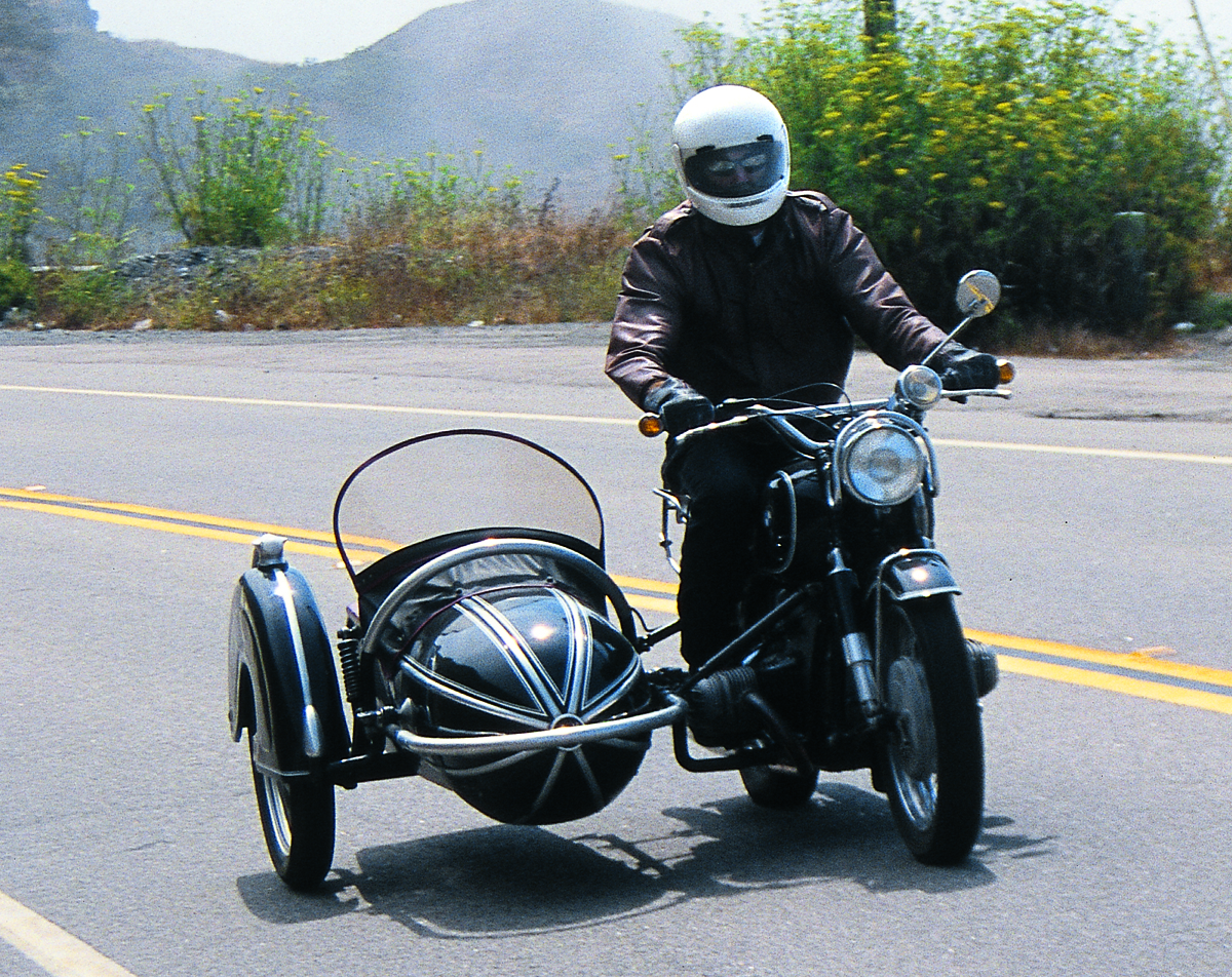 how to drive a sidecar