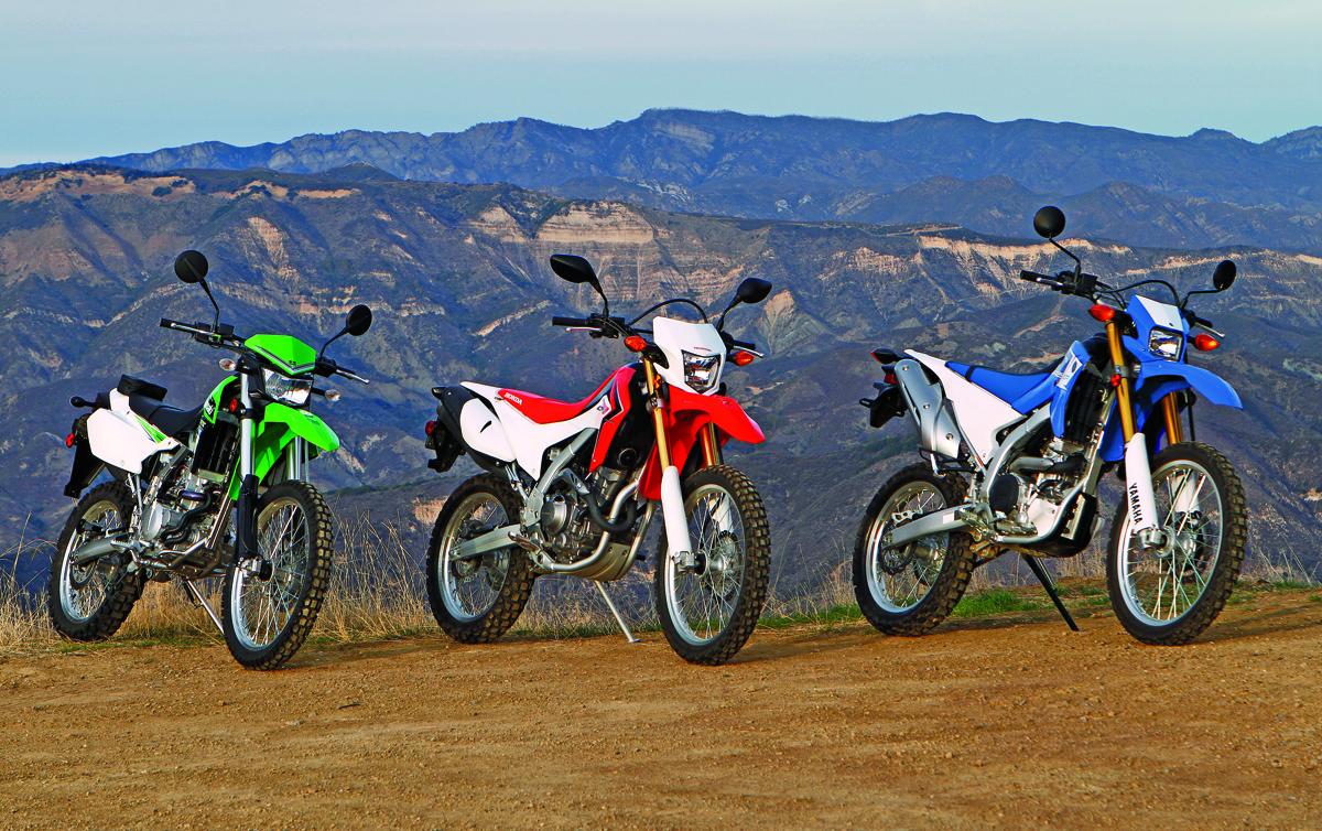 Rider Comparo 2013 Honda Crf250l Vs 2013 Kawasaki Klx250s Vs 2013 Yamaha Wr250r Rider