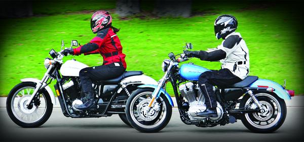 comparison: 2011 harley-davidson xl883l sportster superlow vs