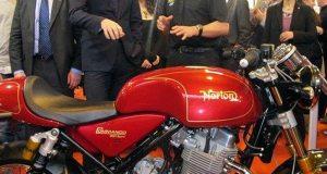 Prince William Norton Motorcycle