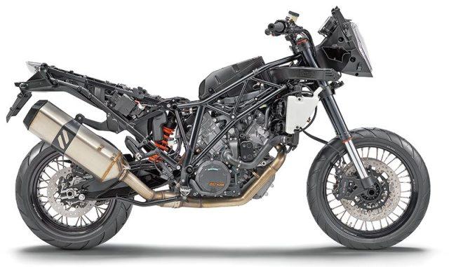 KTM 1190 Adventure frame