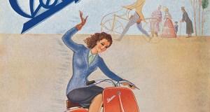 Original Vespa poster from 1946. (Photo: Piaggio)