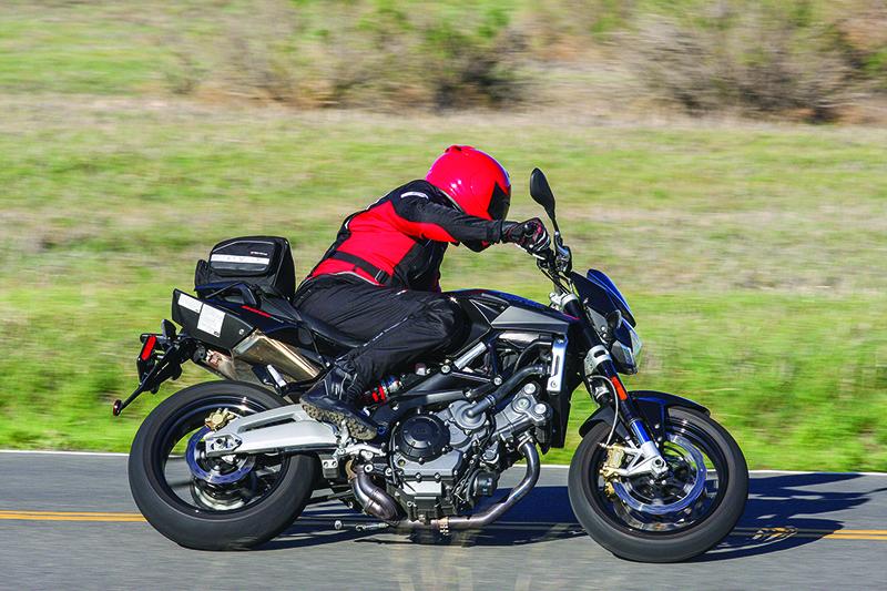 2016 Aprilia Shiver 750 Road Test Review Rider Magazine