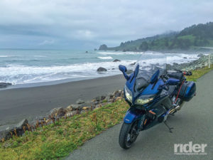 2016 Yamaha FJR1300ES, Redwood National and State Parks