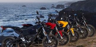 Zero's 2016 lineup of electric motorcycles. (Photo: Zero)