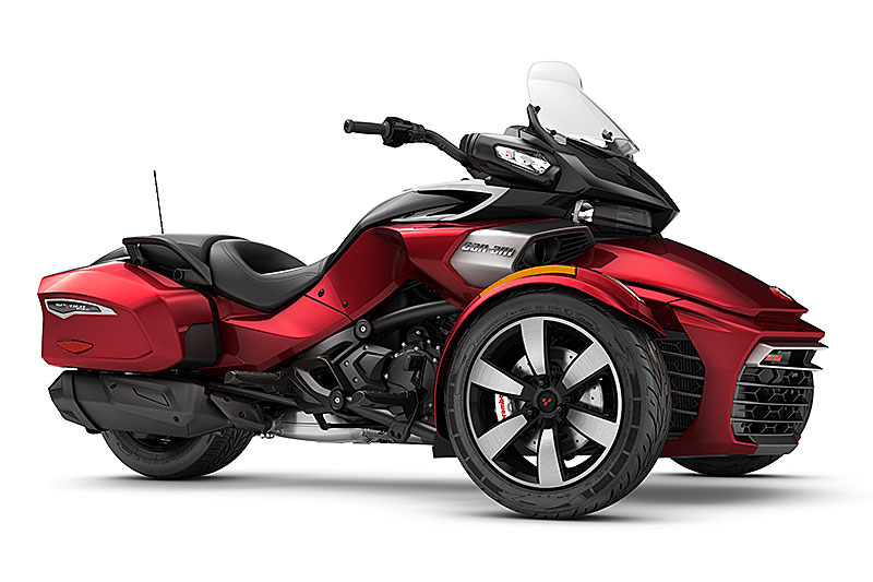 2017 can am spyder f3 and rt first look review rider. Black Bedroom Furniture Sets. Home Design Ideas