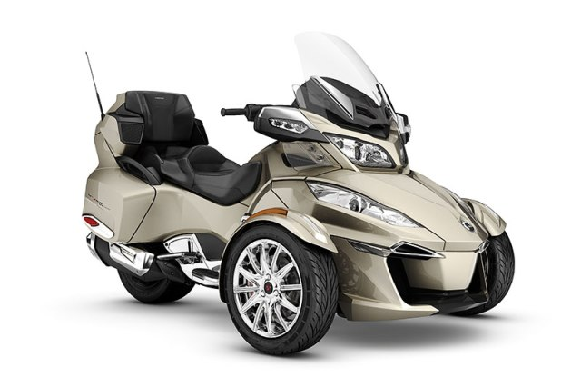2017 Can Am Spyder RT Limited in Champagne Metallic