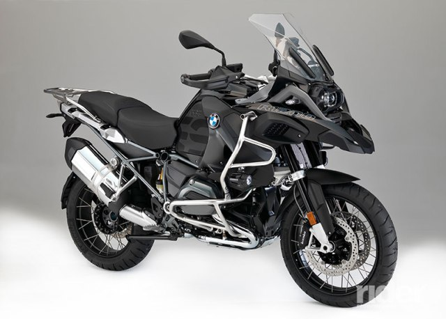 "2017 BMW R 1200 GS Adventure ""Triple Black."""