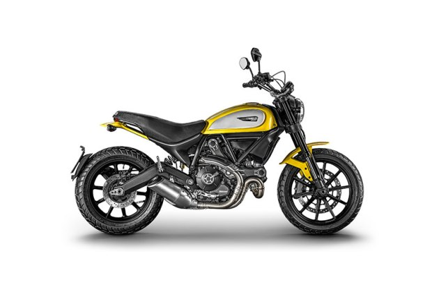 Ducati Scrambler Icon Yellow