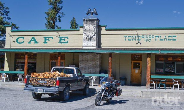 Tom's Place is a good spot to eat and immerse yourself in the local culture.