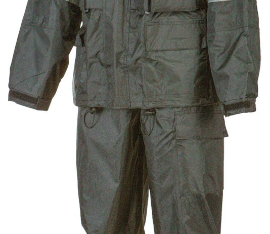 Fly Street Gear 2-Piece Rain Suit.