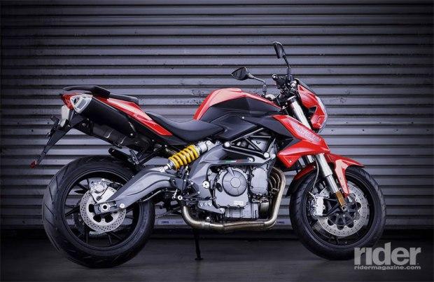 Benelli TNT600. (Photo: Benelli/SSR Motorsports)