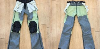 The Bilt Iron Workers Iron jeans' knee armor pockets are small and non-adjustable, so if the armor doesn't sit right where you need it, you're out of luck.