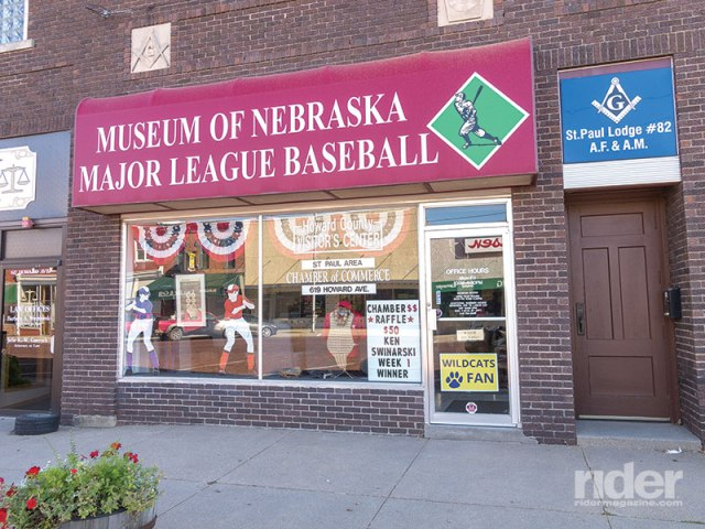 St. Paul, Nebraska, was the hometown of baseball Hall-of-Famer Grover Cleveland Alexander, reason enough to start a museum honoring other cornhusker contributors to the sport.