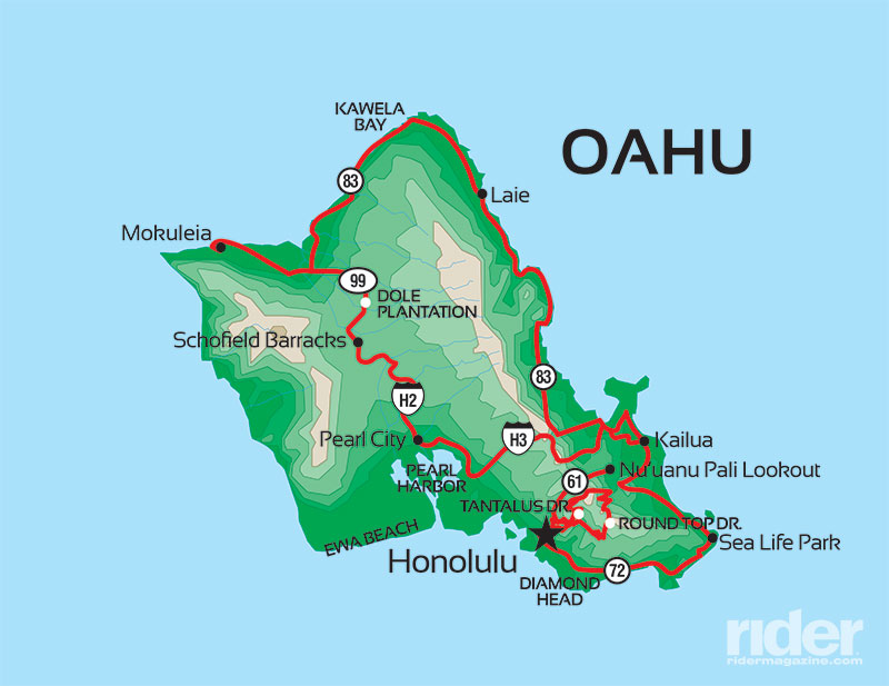 Motorcycle Touring On Oahu Rider Magazine