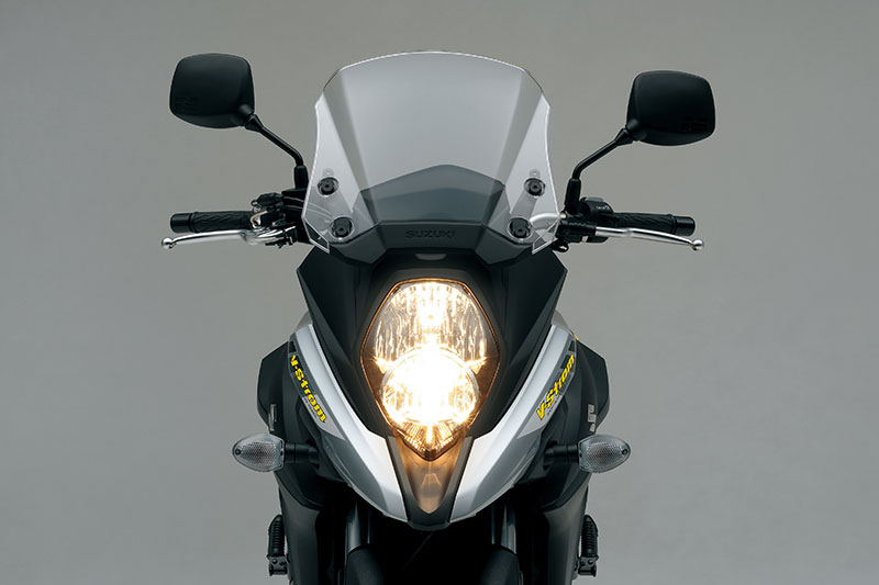 2018 suzuki v strom 1000 xt. plain suzuki the new vstrom 650 now looks more like its dl1000 big brother with and 2018 suzuki v strom 1000 xt
