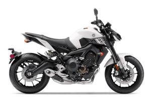 2017 Yamaha FZ-09 in Electric White