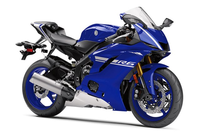 2017 Yamaha YZF-R6 in Team Yamaha Blue