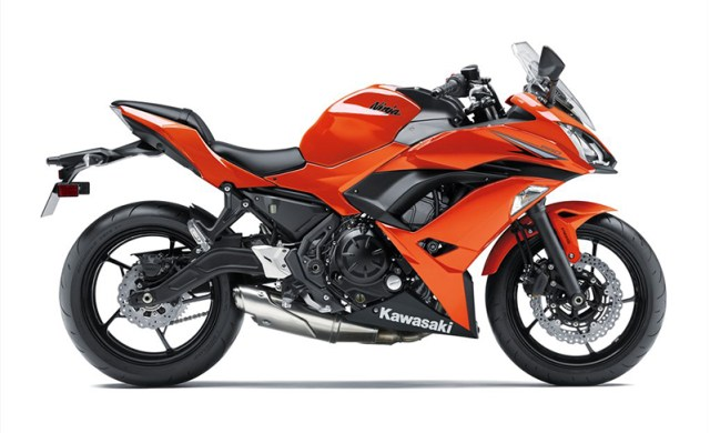 2017 Kawasaki Ninja 650 in Candy Burnt Orange. (Photos: Kawasaki)