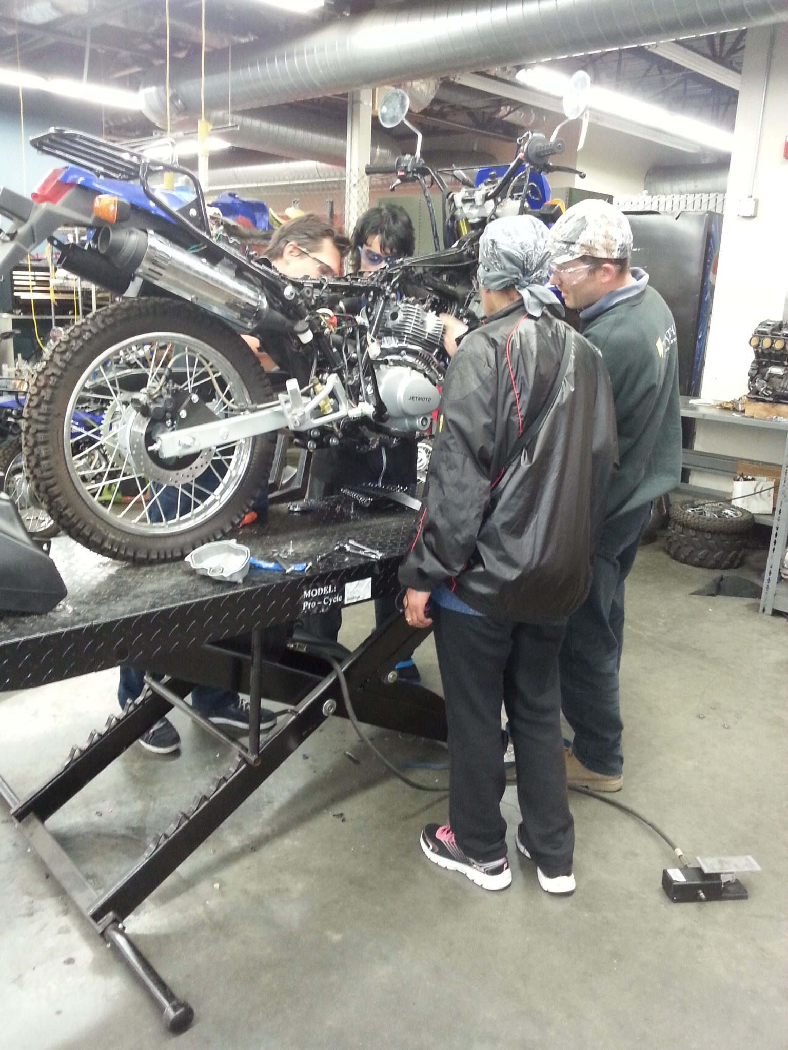 Motorcycle Maintenance Evening Course