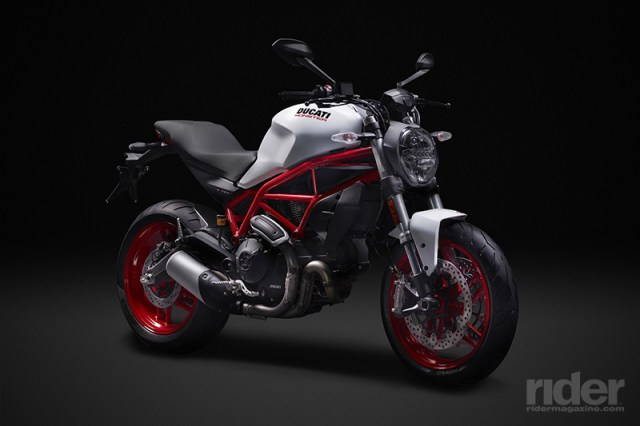 The 2017 Ducati Monster 797 represents a return to what made the original '90s Monsters so addictive. (Photos: Ducati)