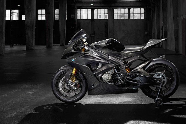 BMW says the HP4 RACE will be the most exclusive BMW motorcycle ever, built by hand in small numbers.