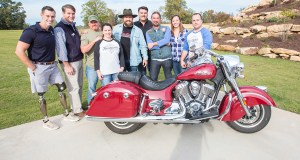 Indian Motorcycle Veterans Day Ride with Zac Brown Band.