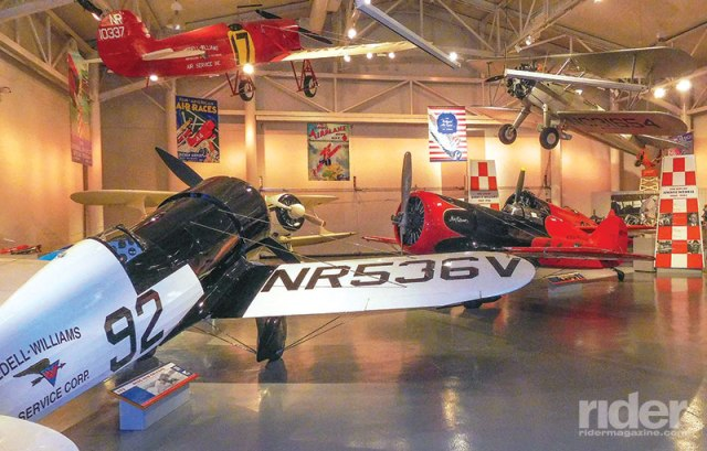 The Wedell-Williams Aviation and Cypress Sawmill Museum in Patterson, Louisiana, is a state museum that offers visitors a peek into the history of the swamp logging industry, along with an exhibit from the Golden Age of Aviation.