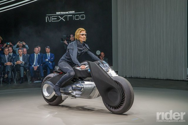 Why, of course it's self-balancing, thanks to powerful gyros that also assist steering.