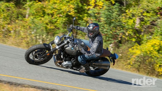 The pristine pavement and sweeping curves in Harriman State Park beckoned us into deepening leans and widening smiles. (Photo: Kevin Wing)