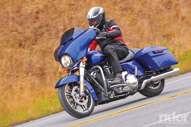 The 2017 Harley-Davidson Street Glide receives new Showa suspension, an Assist and Slip Clutch and--most importantly--the new Milwaukee-Eight engine. (Photos: Riles & Nelson)