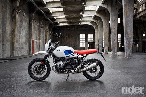 The 2017 BMW R nineT Urban G/S is the spitting image of its ancestor, the R 80 G/S.