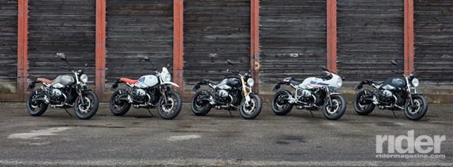 The BMW R nineT family...five down, five to go!