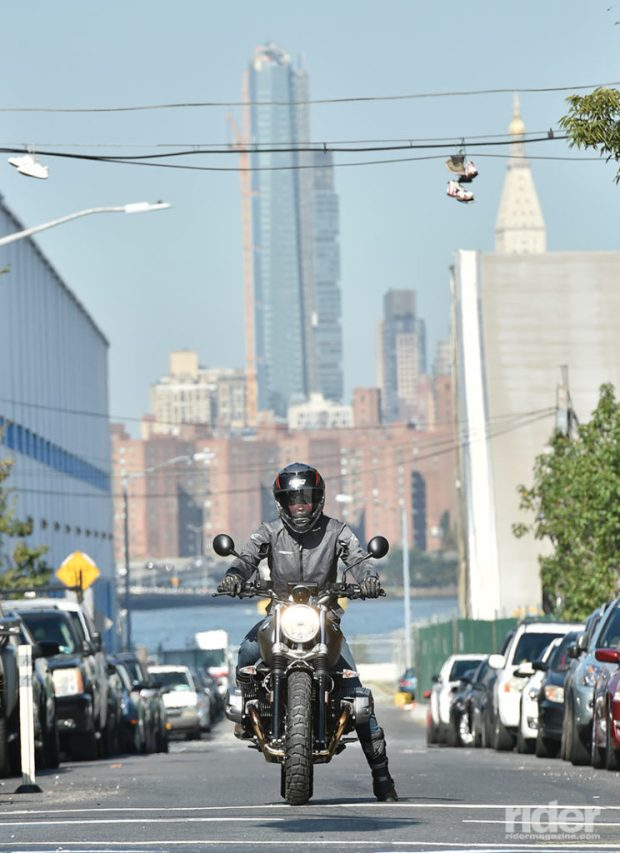 The Scrambler was right at home in Brooklyn. (Photo: Jon Beck)