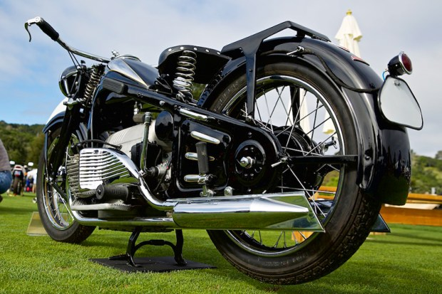 The Quail Motorcycle Gathering brings together hundreds of rare motorcycles. (Photo by Steve Burton)