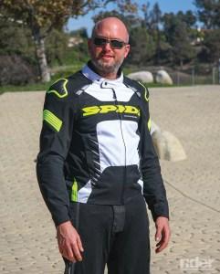 Spidi Warrior Tex Jacket.