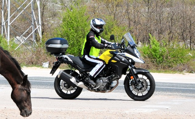 2017 Suzuki V-Strom 650 on tour in Bosnia. (Photo by Promiž Bric)