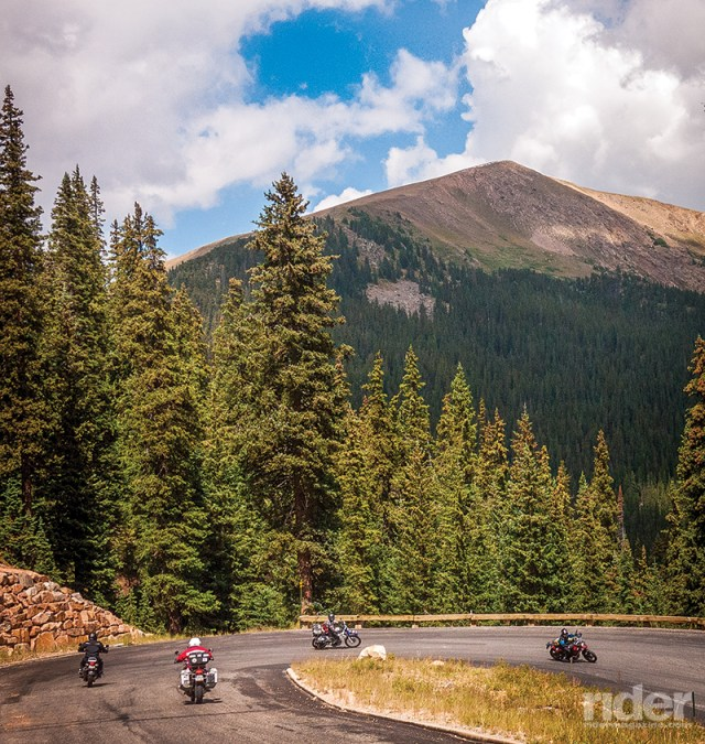 Anybody wanting to clear his mind would be well advised to take a motorcycle trip in the Rocky Mountains, with great roads and magnificent scenery. (Photos by Dan Schrock)