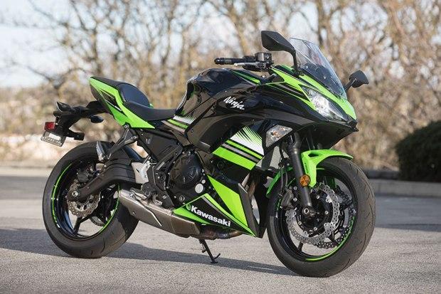 2017 Kawasaki Ninja 650 profile