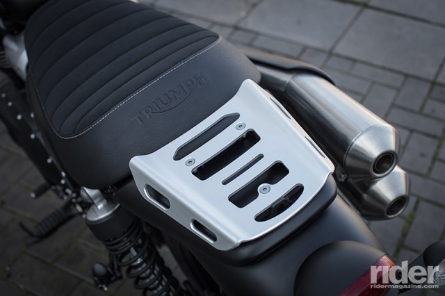 Street Scrambler rear rack