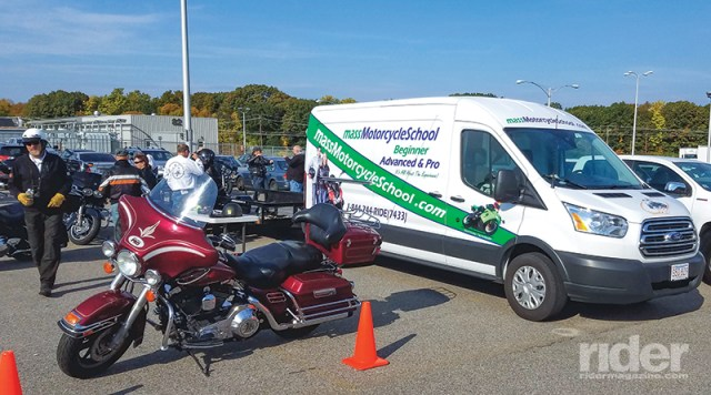 In New England, Ride Like a Pro is taught by Mass Motorcycle School.